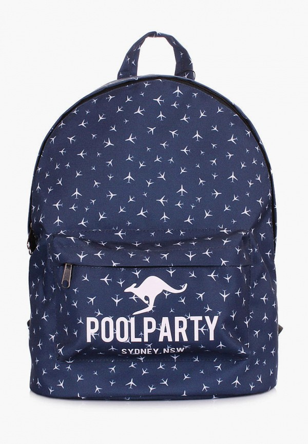 женский рюкзак poolparty, синий