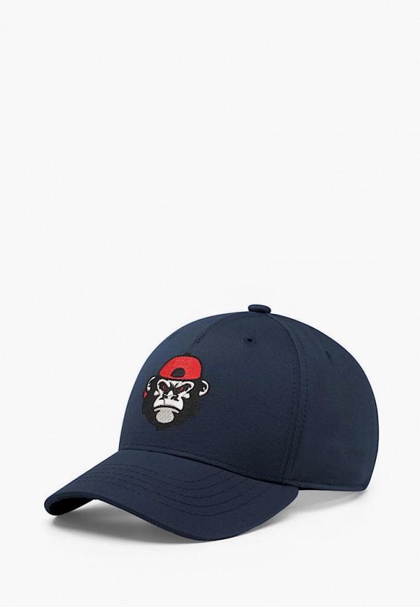 женская бейсболка headway, синяя
