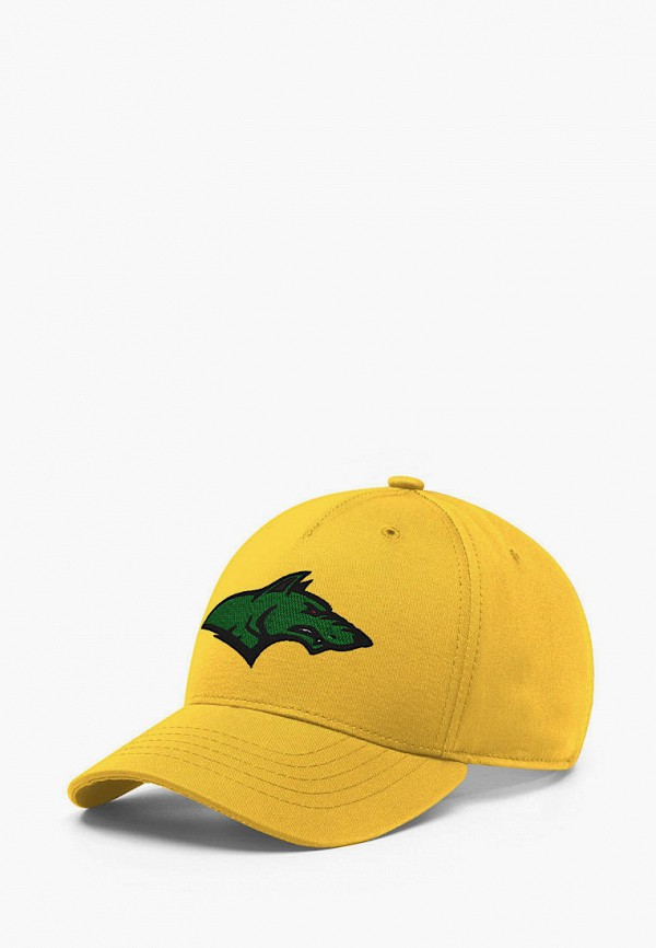 женская бейсболка headway, желтая