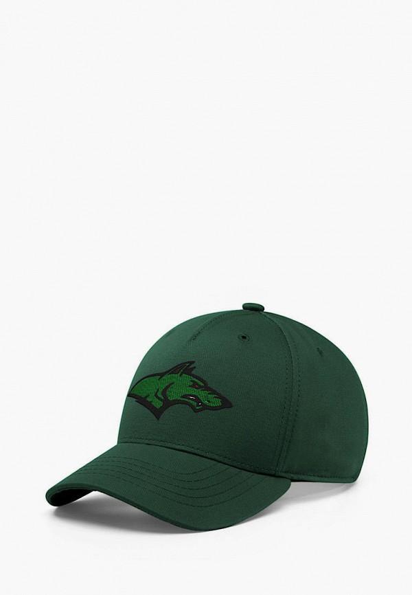 женская бейсболка headway, зеленая