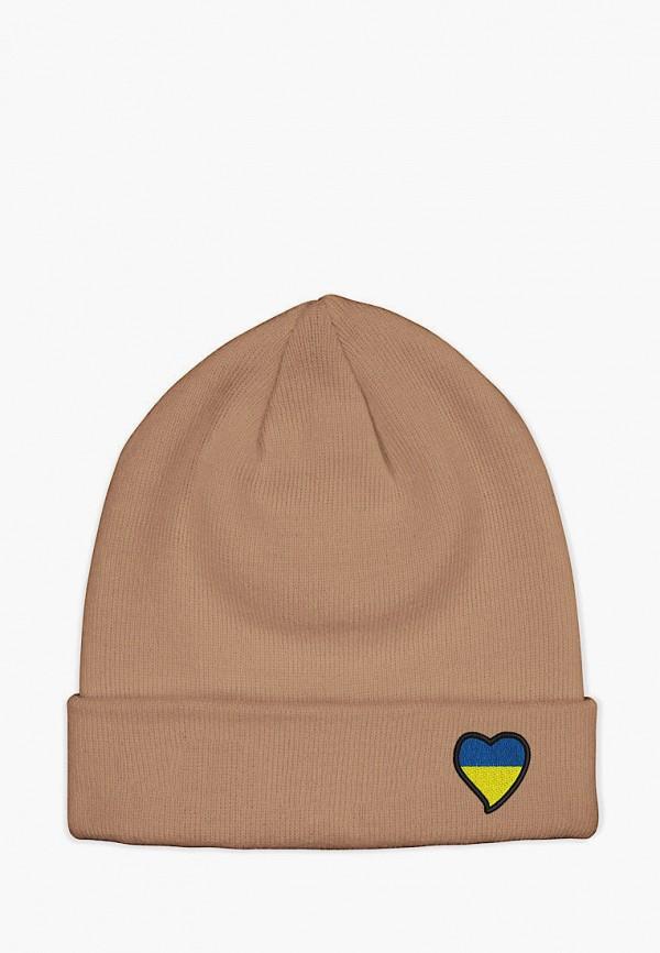 женская шапка headway, бежевая