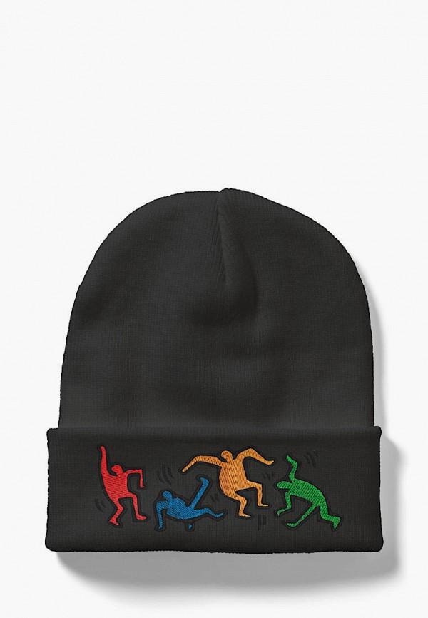 женская шапка headway, серая