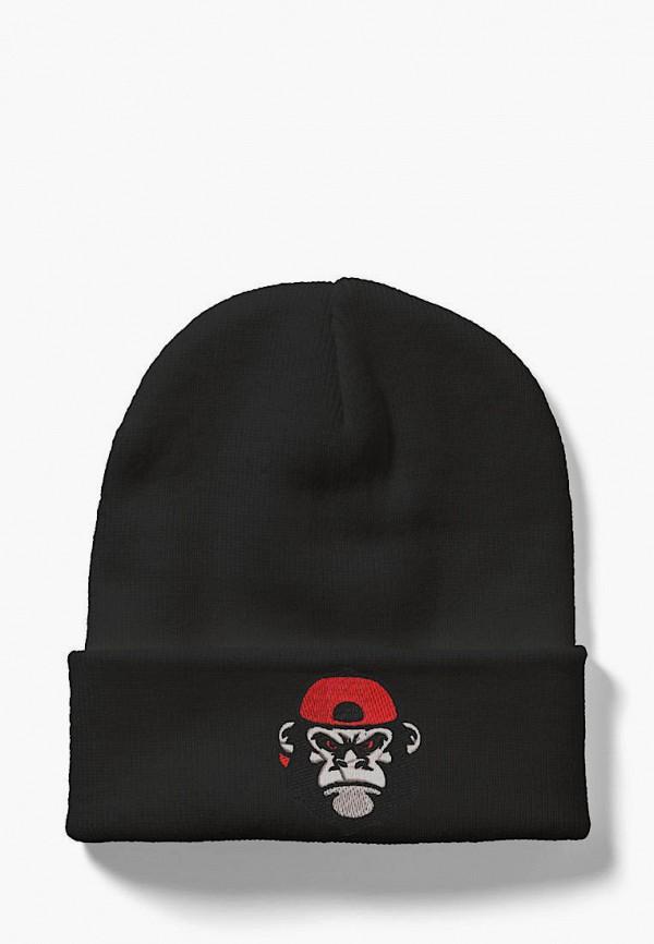 женская шапка headway, черная