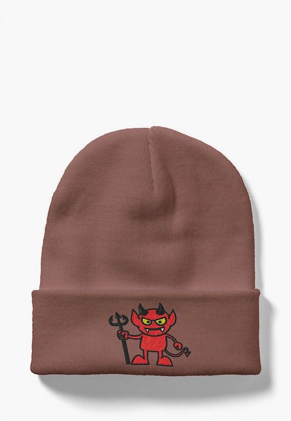 женская шапка headway, розовая