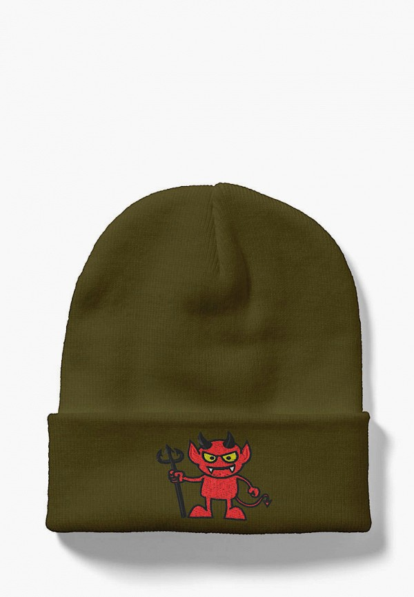 женская шапка headway, хаки
