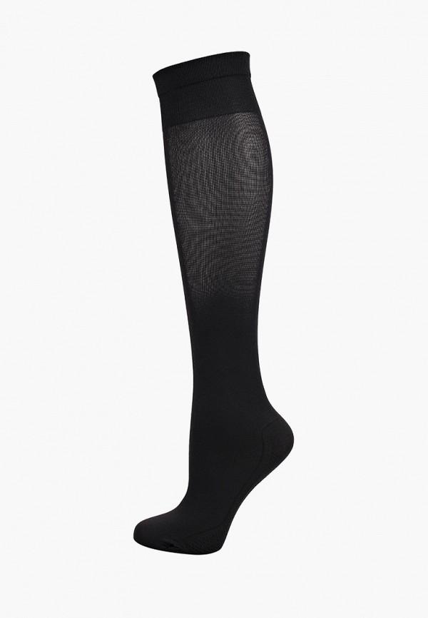женские гольфы solidea, черные