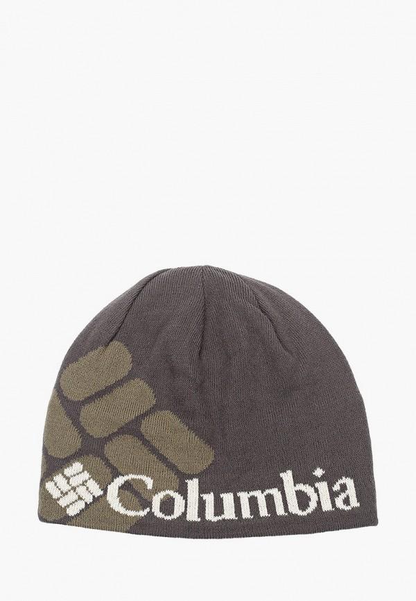 женская шапка columbia, зеленая