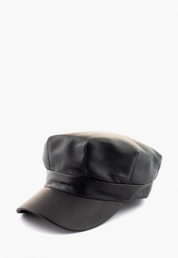 женская кепка anna bask, черная