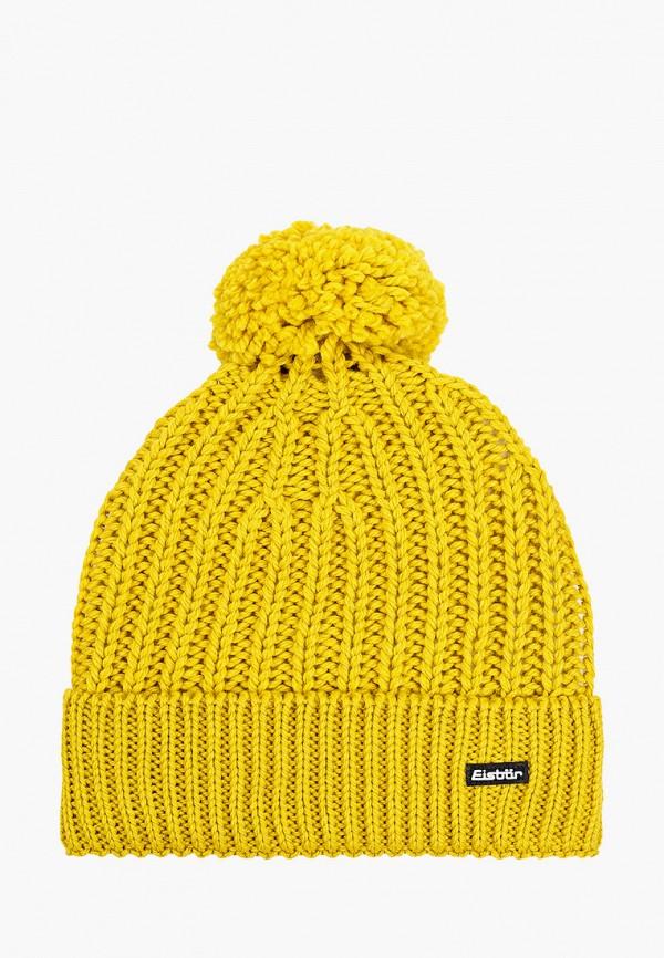 женская шапка eisbar, желтая