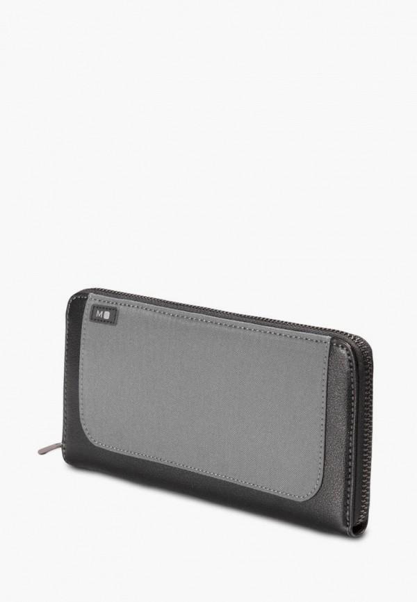 женский кошелёк moleskine, серый