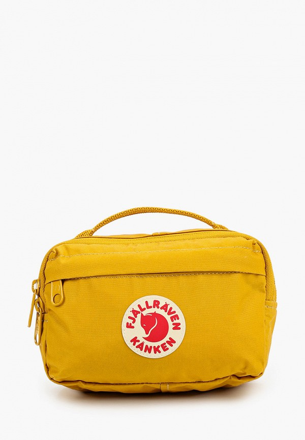 женская поясные сумка fjällräven kånken, желтая