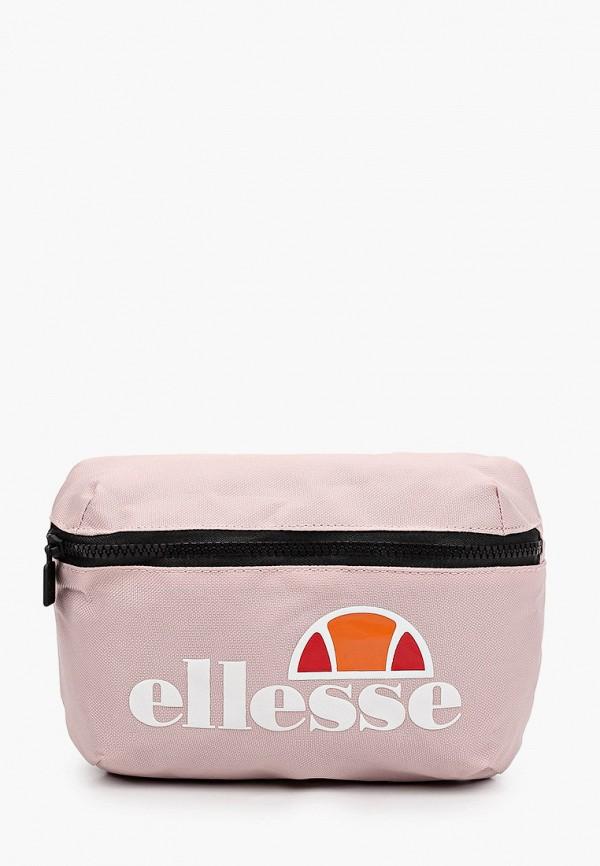 женская поясные сумка ellesse, розовая