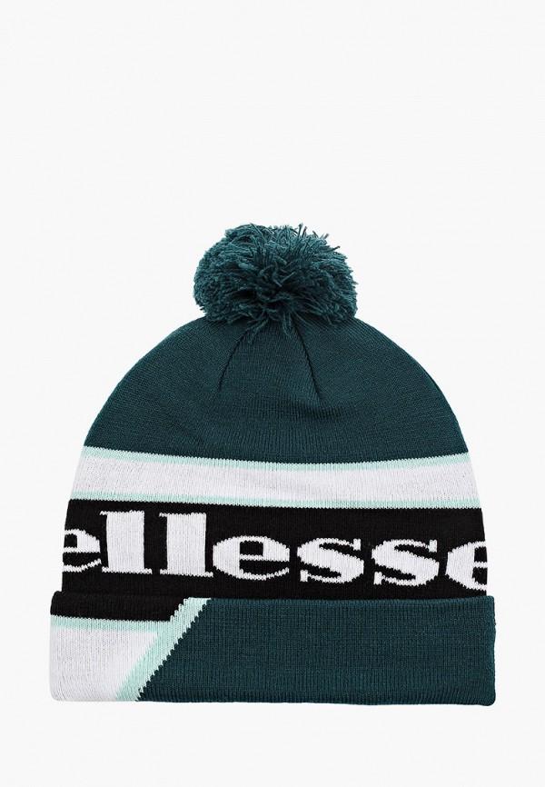 женская шапка ellesse, зеленая