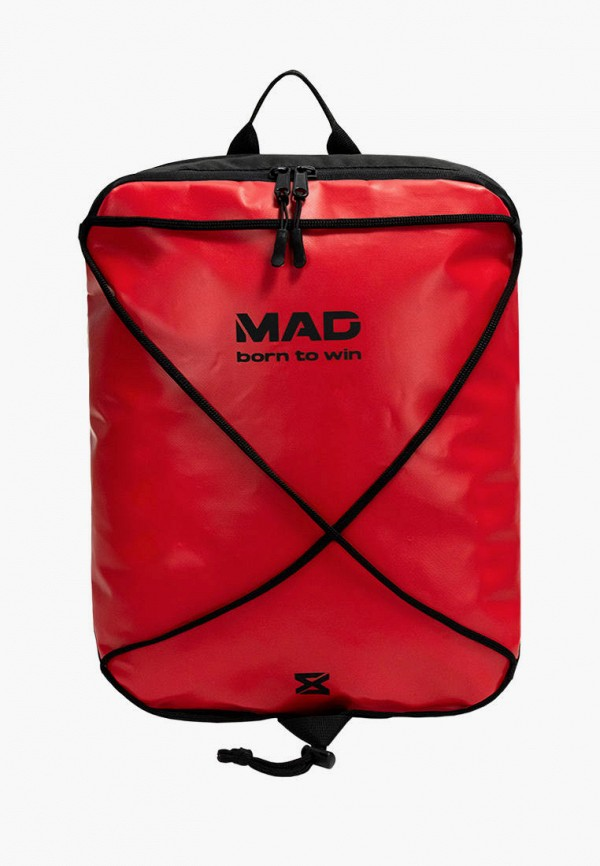 женский рюкзак mad | born to win, красный