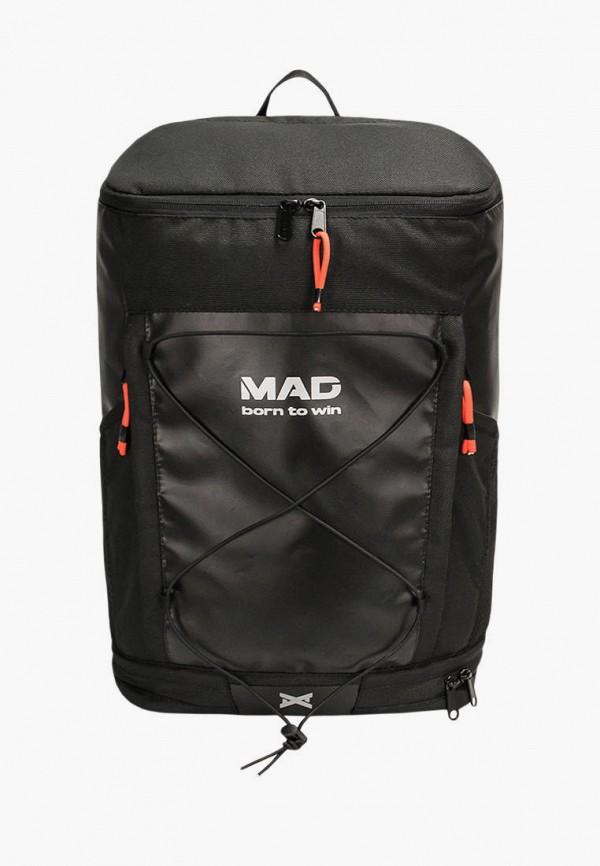 женский рюкзак mad | born to win, черный