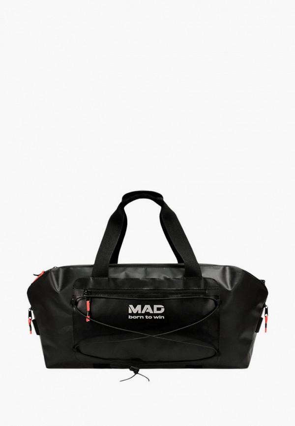 женская сумка mad | born to win, черная