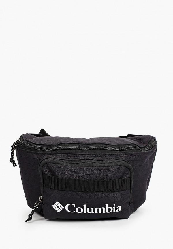женская поясные сумка columbia, черная