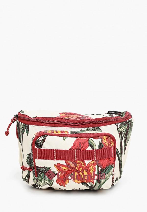 женская поясные сумка columbia, бежевая