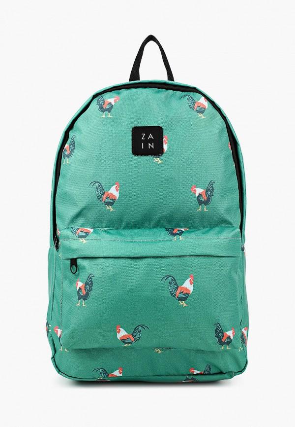 женский рюкзак zain, зеленый