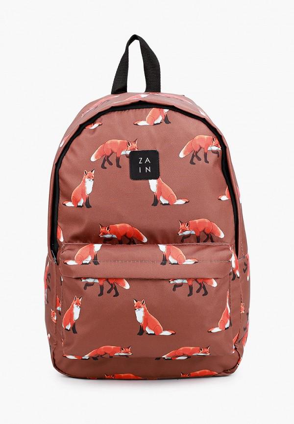 женский рюкзак zain, коричневый