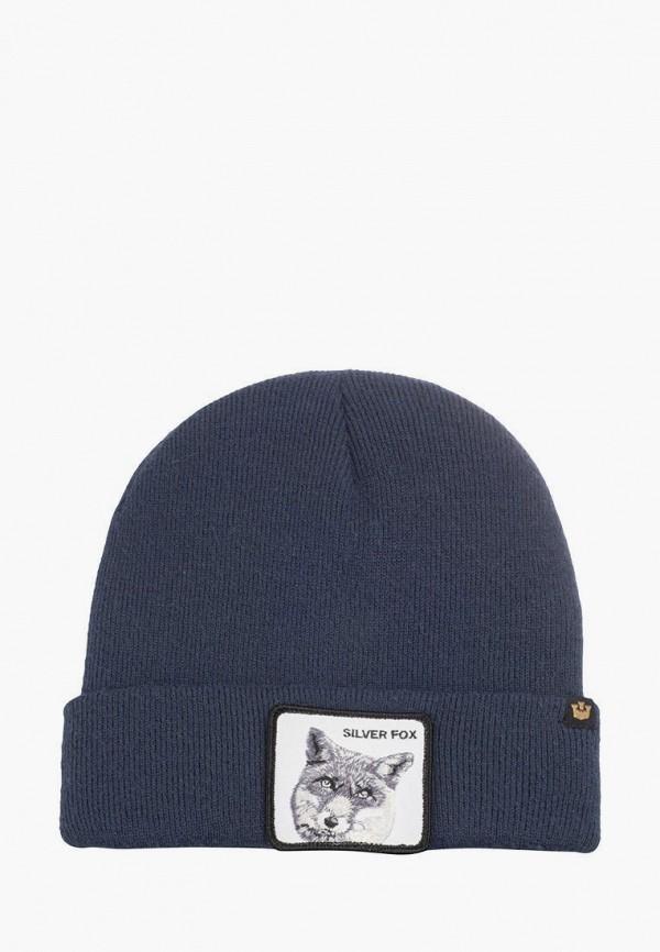 женская шапка goorin brothers, синяя