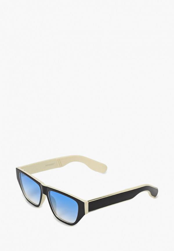 женские квадратные солнцезащитные очки vitacci, разноцветные