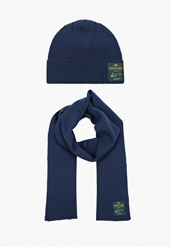 женский шарф zasport, синий