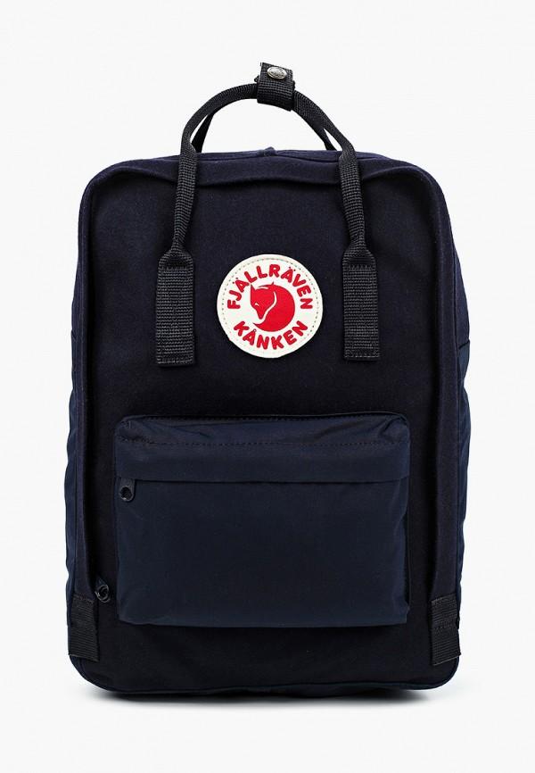 женский рюкзак fjällräven kånken, синий
