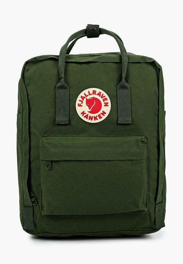 женский рюкзак fjällräven kånken, зеленый