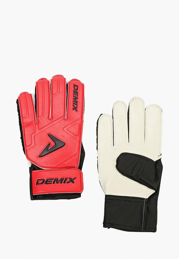 женские перчатки demix, красные