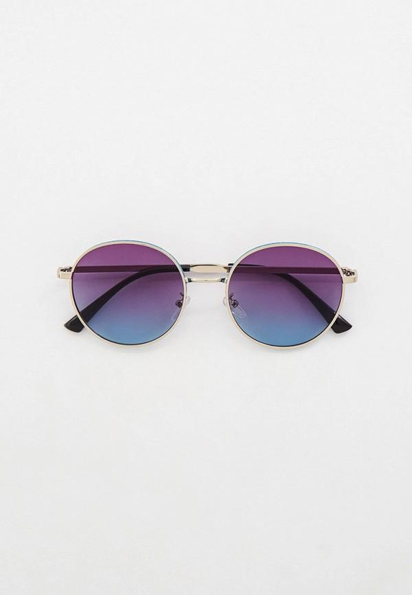 женские круглые солнцезащитные очки bocciolo, золотые