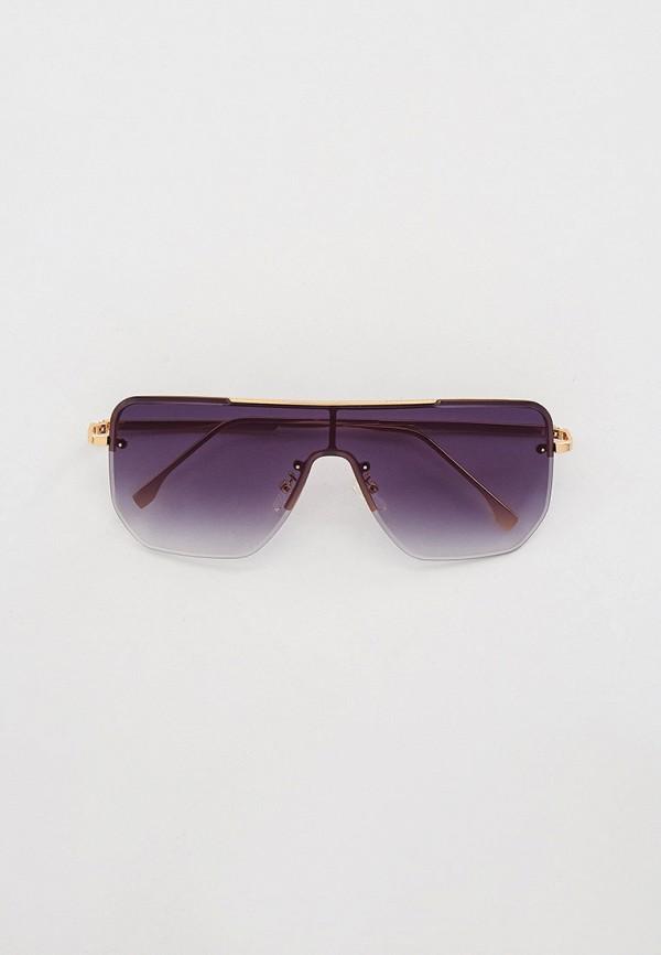 женские квадратные солнцезащитные очки bocciolo, золотые