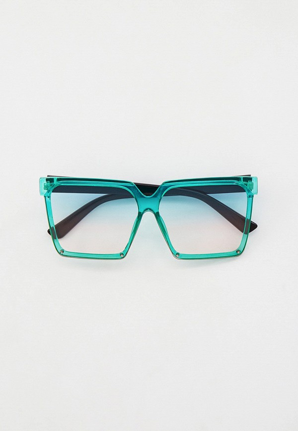 женские квадратные солнцезащитные очки bocciolo, голубые