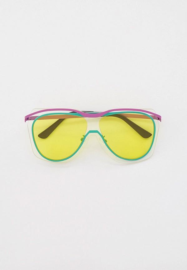 женские авиаторы солнцезащитные очки bocciolo, разноцветные