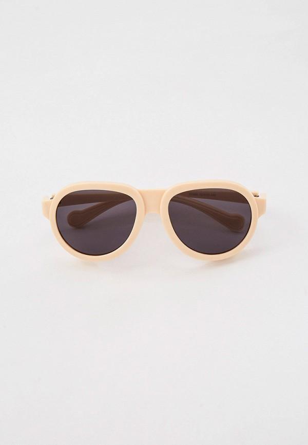 женские круглые солнцезащитные очки bocciolo, бежевые