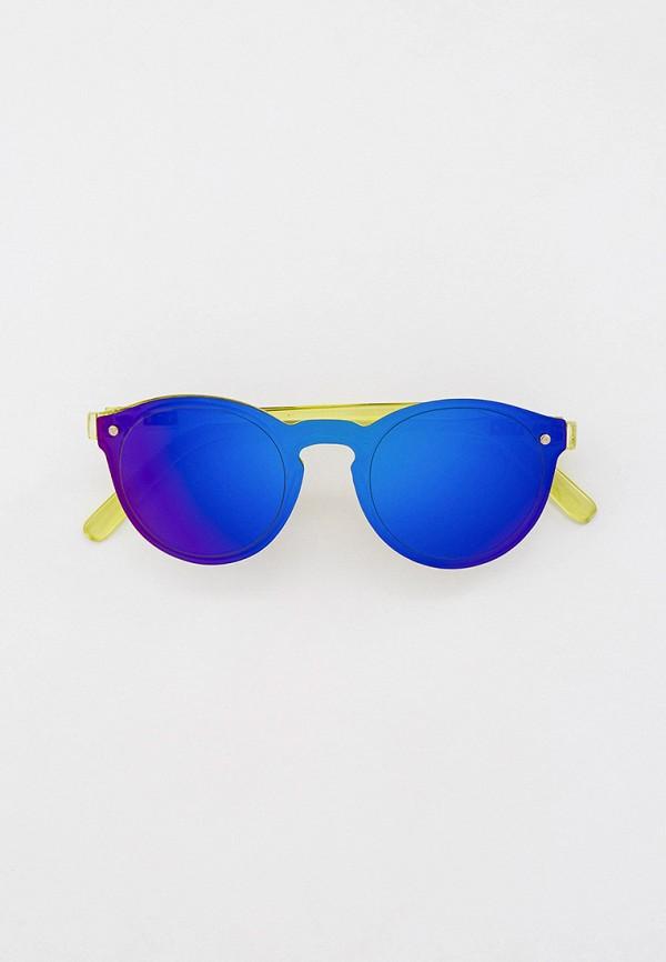 женские круглые солнцезащитные очки bocciolo, разноцветные