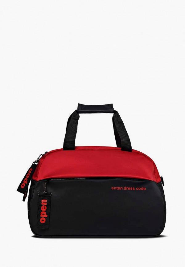 женская спортивные сумка antan, черная