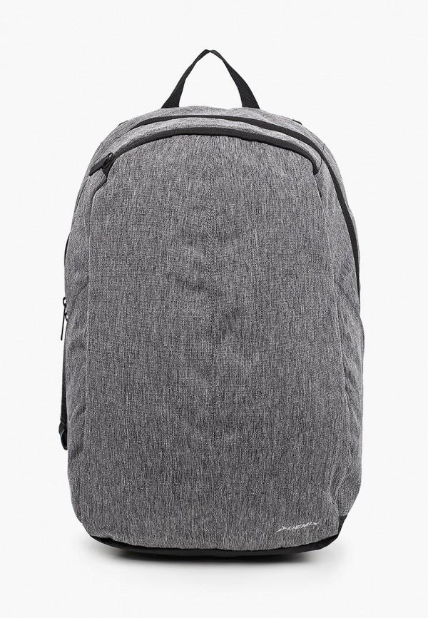 женский рюкзак demix, серый