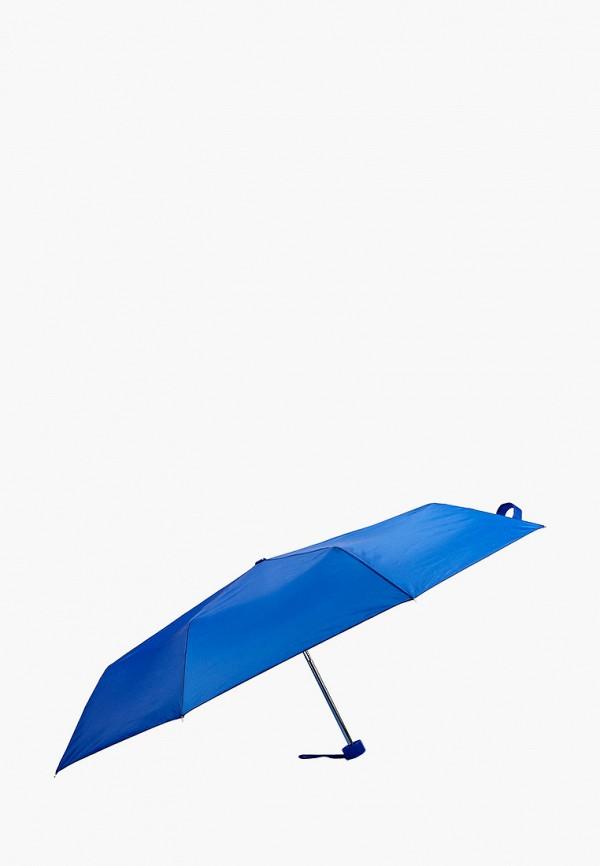 женский складные зонт regatta, синий