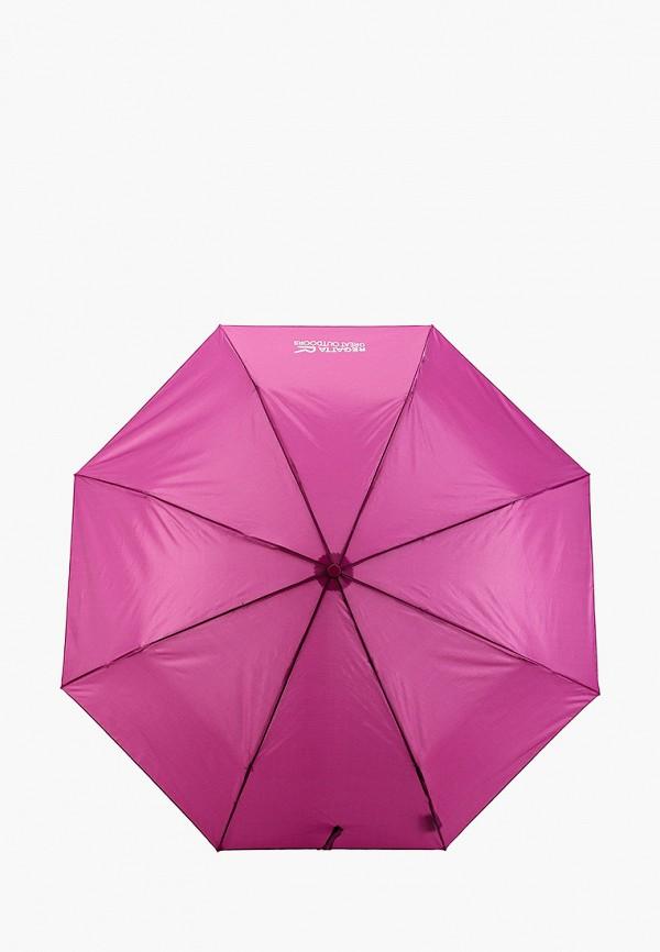 женский складные зонт regatta, фиолетовый