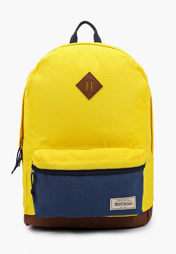 женский рюкзак regatta, желтый