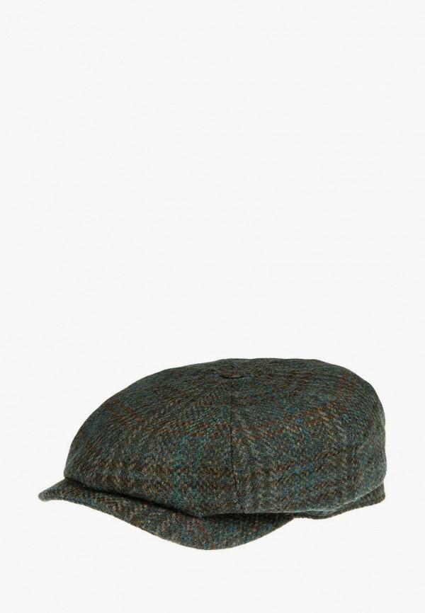 женская кепка stetson, коричневая