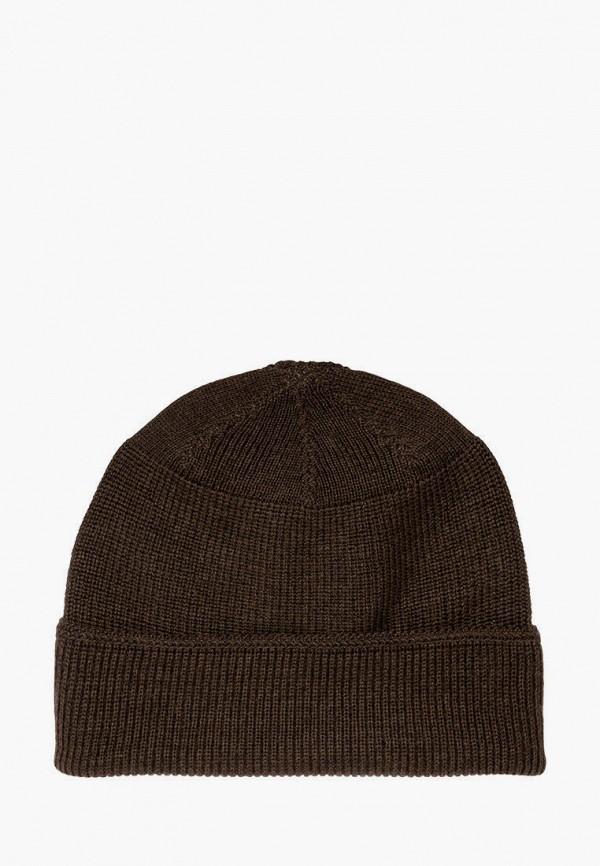женская шапка stetson, коричневая