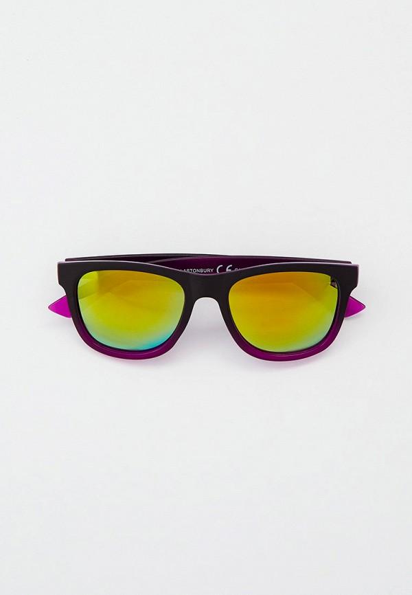 женские квадратные солнцезащитные очки eyelevel, фиолетовые