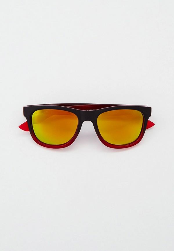 женские квадратные солнцезащитные очки eyelevel, красные