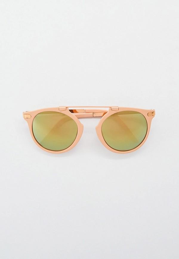 женские круглые солнцезащитные очки eyelevel, розовые
