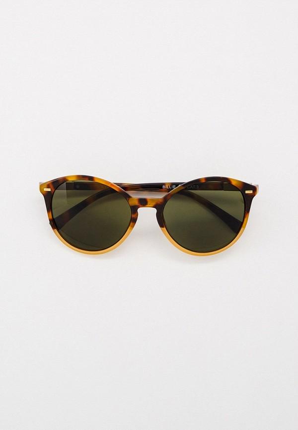 женские круглые солнцезащитные очки eyelevel, коричневые