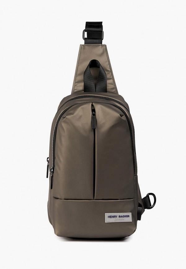 женский рюкзак henry backer, коричневый