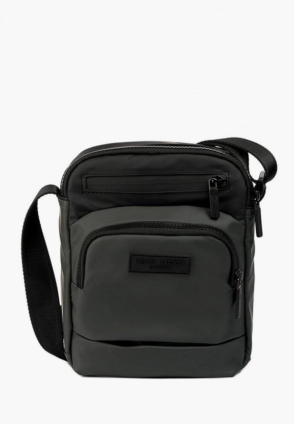 женская сумка через плечо henry backer, зеленая