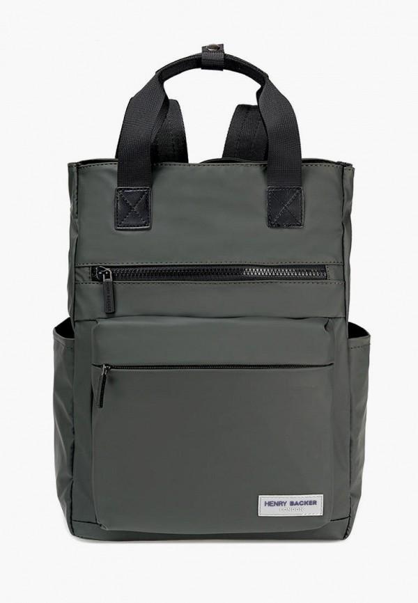 женский рюкзак henry backer, зеленый